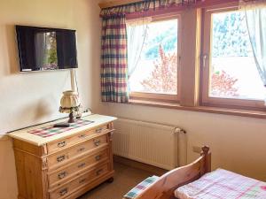 Schlafzimmer der Ferienwohnung Forelle