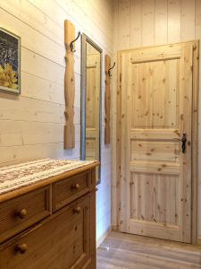 Holzzimmer in Ferienwohnungen